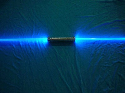 led flashing double sword