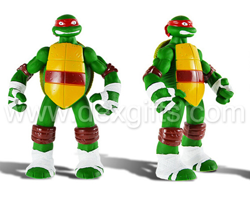 acousto-optic teenage mutant ninja turtles battle shell figures new in box