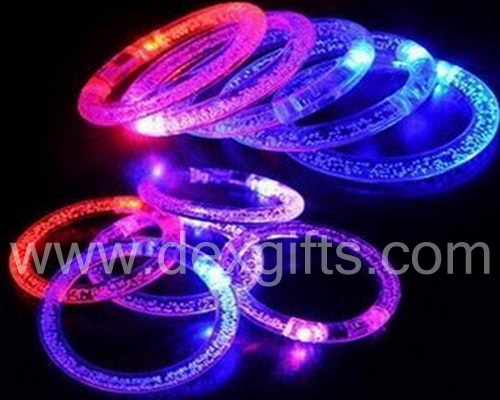 acrylic fluorescent light up led braceles