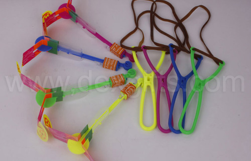 flare copters with Y-shape slingshot