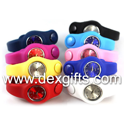 silicone watch for students ladies girls
