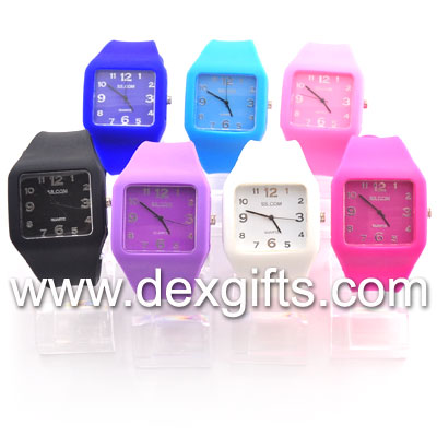 candy jelly watch colors jelly watch for girls and boys