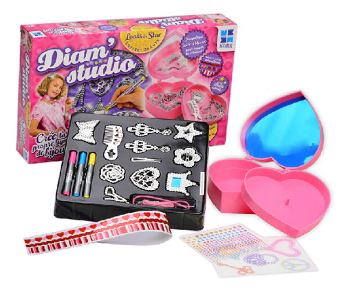 newest shining diy toy diam studio for girls