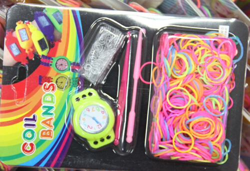 diy loom band kit,loom bands watch set