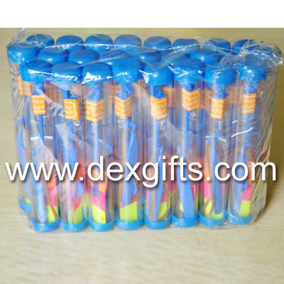 blue flare copters tube packing, 25 pieces/bag
