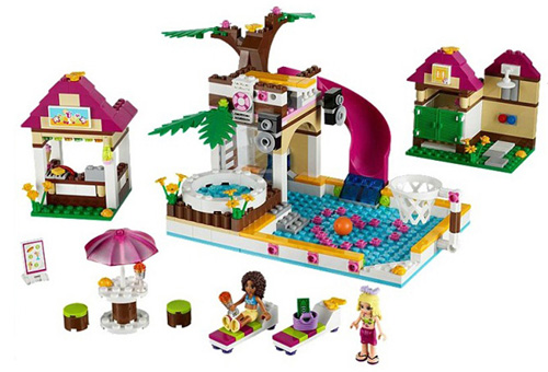 latest heart lake building toy sets