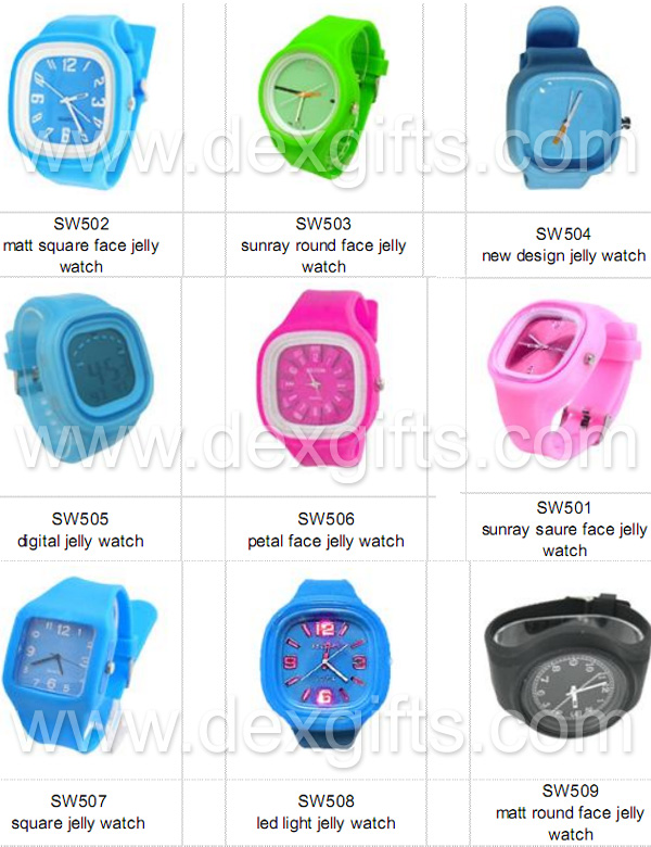 jelly watch catalogue