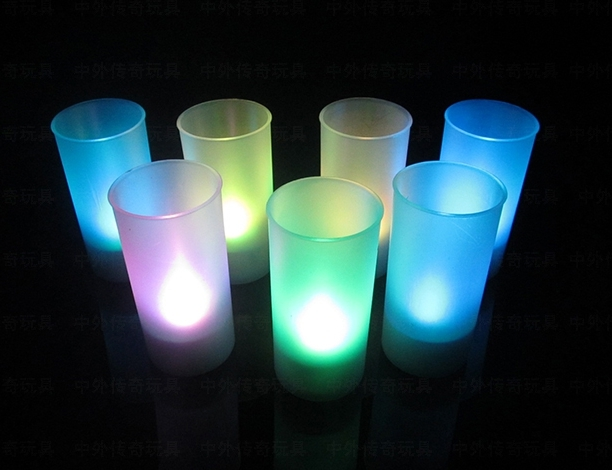 light up candle