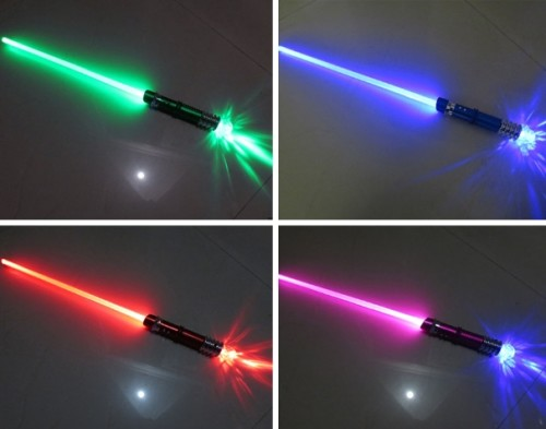 light up sword four color