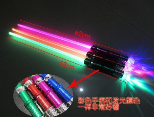Colorful Handles Star Wars Light up Swords