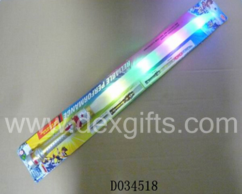 four led lights sound light up swords