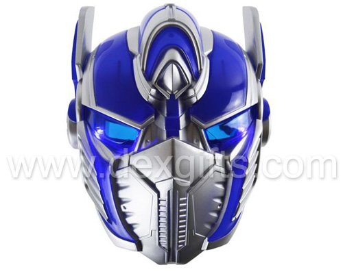 transformers optimus prime light up mask
