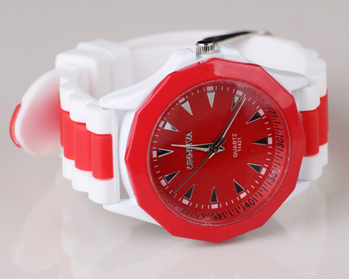 rubber-silicone-analog-watches