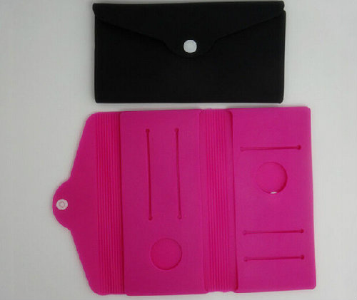 multi functional silicone wallet for lady
