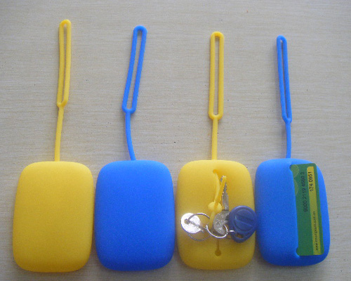 silicone purses customized silicone key purse from china
