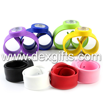 colorful slap watches