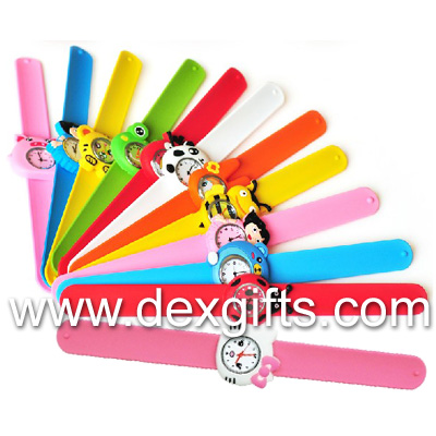 hello-kitty cartoon animal style snap watches