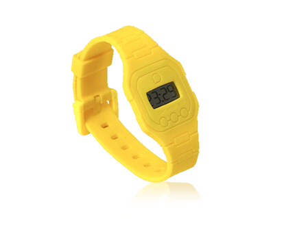 ultra thin digital backlight watches
