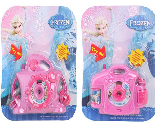 frozen pretend play toy camera projector series