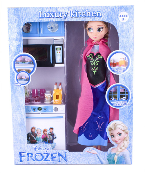 frozen pretend play toy sets kitchenware doll series