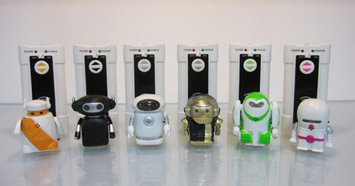 mini infrared voice control rechargeable robot toy full 6 style