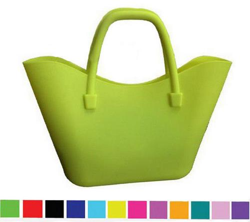 shopping silicone tote handbag single shoulder tote bag