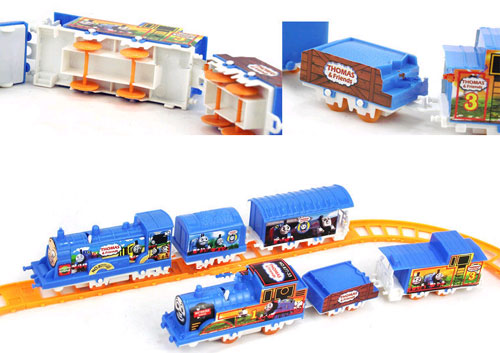 funny new coming high quality thomas toy trains with track railway toys