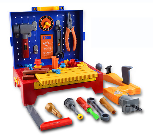 Home Depot Pretend Play Tools With Work Bench Storage