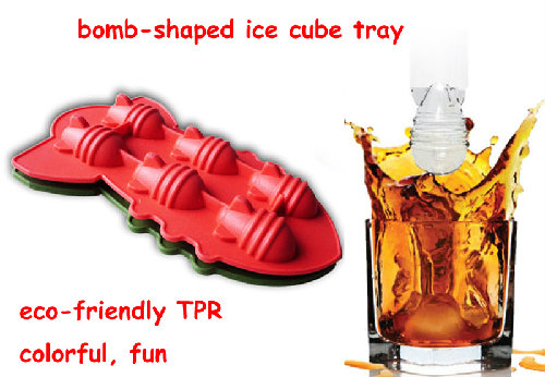 cool 52s- world war bomb novelty 3d silicone ice cube tray
