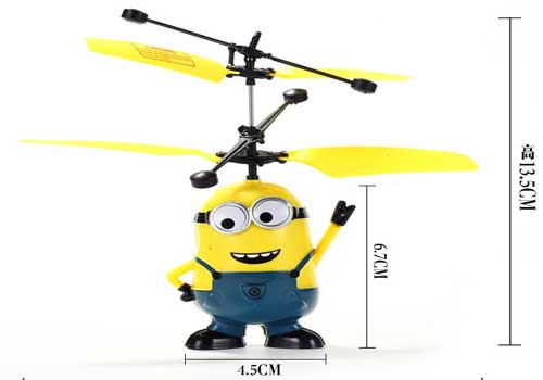 flying minion fairy despicable me mini despicable me remote control toys creative ufo best birthday gifts