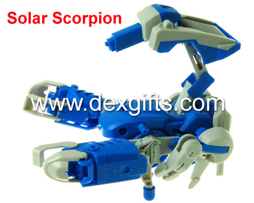 "solar energy ""3 in 1"" robot scorpion"