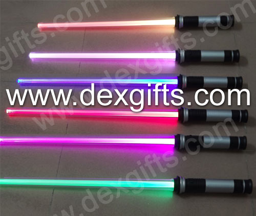 rongxin double lightsaber star wars lightsaber with sound sword toy weapons green purple red blue yellow white color