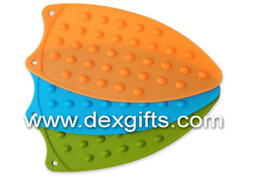 silicone iron mat 90g heat protecting iron silicone stand